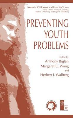 Preventing Youth Problems - Issues in Children's and Families' Lives 1 (Hardback)