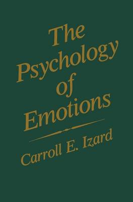 The Psychology of Emotions - Emotions, Personality, and Psychotherapy (Paperback)