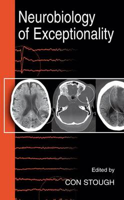 Neurobiology of Exceptionality - The Springer Series on Human Exceptionality (Hardback)