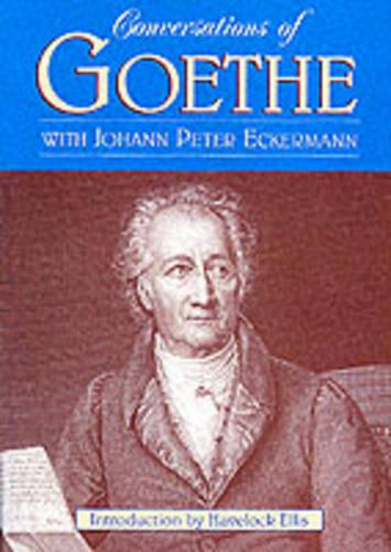 Conversations Of Goethe (Paperback)