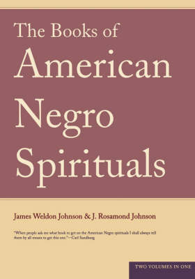The Books Of American Negro Spirituals (Paperback)