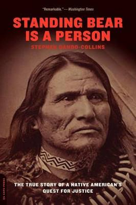 Standing Bear Is a Person: The True Story of a Native American's Quest for Justice (Paperback)