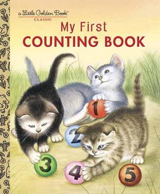 My First Counting Book - Little Golden Board Book (Hardback)