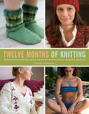 Twelve Months of Knitting: 36 Projects to Knit Your Way Through the Year (Paperback)