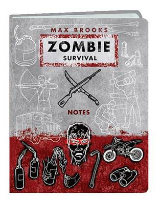 Zombie Survival Notes Mini Journal (Hardback)