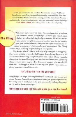 Living Rich for Less: Create the Lifestyle you Want by Giving, Saving, and Spending Smart (Hardback)