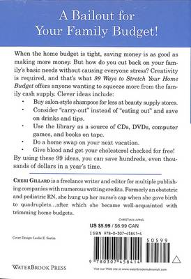 99 Ways to Stretch your Home Budget (Paperback)