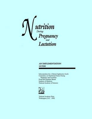 Nutrition During Pregnancy and Lactation: An Implementation Guide (Paperback)