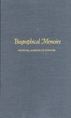 Biographical Memoirs: V.69 (Hardback)