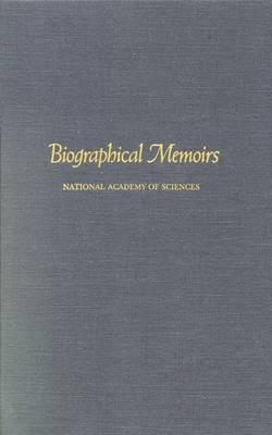 Biographical Memoirs: V.70 (Hardback)
