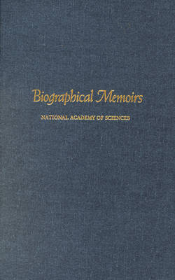 Biographical Memoirs: V.79 (Hardback)