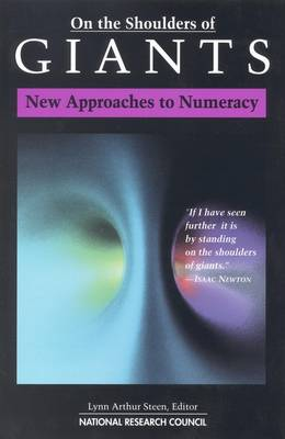On the Shoulders of Giants: New Approaches to Numeracy (Paperback)