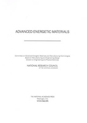 Advanced Energetic Materials (Paperback)