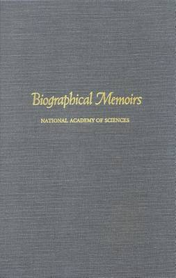 Biographical Memoirs: Volume 44 (Paperback)