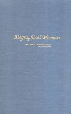 Biographical Memoirs: Volume 90 (Hardback)