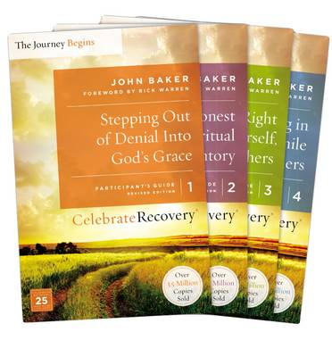 Celebrate Recovery Updated Participant's Guide Set, Volumes 1-4: A Recovery Program Based on Eight Principles from the Beatitudes - Celebrate Recovery (Paperback)