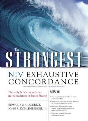 The Strongest NIV Exhaustive Concordance - Strongest Strong's S. No. 5 (Hardback)
