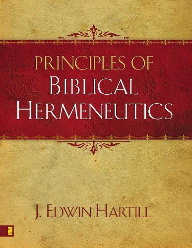 Principles of Biblical Hermeneutics (Paperback)