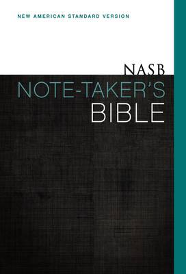 NASB, Note-Taker's Bible, Hardcover, Red Letter Edition (Hardback)