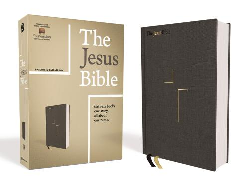 The Jesus Bible, ESV Edition, Cloth over Board, Gray (Hardback)