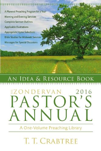 The Zondervan 2016 Pastor's Annual: An Idea and Resource Book (Paperback)