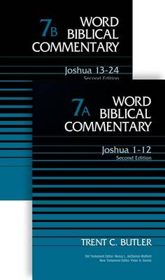 Joshua (2-Volume Set---7A and 7B): Second Edition - Word Biblical Commentary (Hardback)