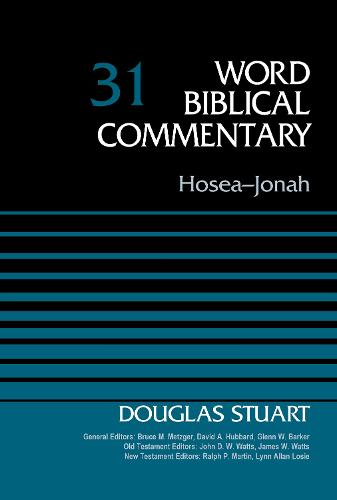 Hosea-Jonah: Volume 31 - Word Biblical Commentary (Hardback)