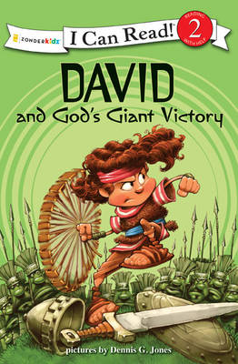 David and God's Giant Victory: Biblical Values - I Can Read! / Dennis Jones Series (Paperback)