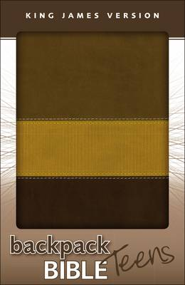KJV, Backpack Bible for Teens, Leathersoft, Brown (Leather / fine binding)