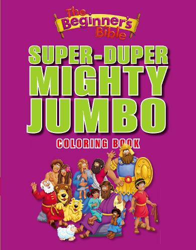 The Beginner's Bible Super-Duper, Mighty, Jumbo Coloring Book - The Beginner's Bible (Paperback)