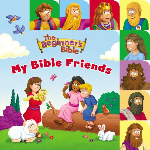 The Beginner's Bible My Bible Friends: a Point and Learn tabbed board book - The Beginner's Bible (Board book)