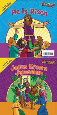 The Beginner's Bible Jesus Enters Jerusalem and He Is Risen: The Beginner's Bible Easter Flip Book - The Beginner's Bible (Paperback)
