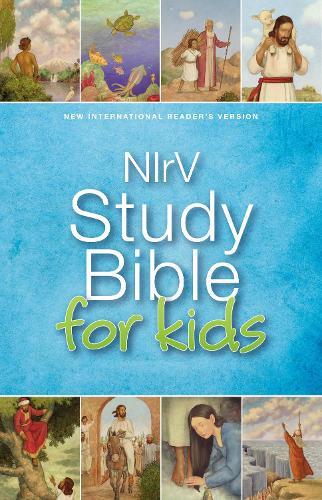 NIrV, Study Bible for Kids, Hardcover (Hardback)