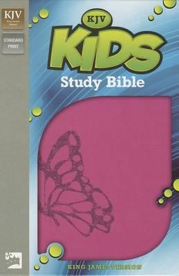 KJV, Kids Study Bible, Leathersoft, Pink (Leather / fine binding)