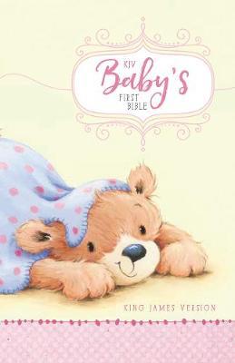 KJV, Baby's First Bible, Hardcover, Pink (Hardback)