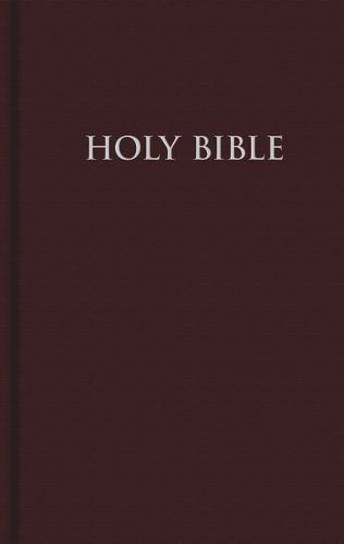 NRSV, Pew Bible, Hardcover, Red (Hardback)