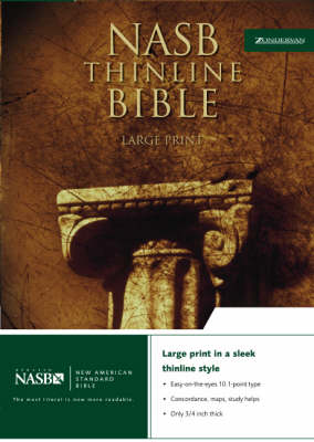 NASB Thinline Bible: New American Standard Bible - NASB Thinline S. No. 5 (Leather / fine binding)