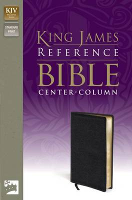 King James Version Reference Bible (Leather / fine binding)