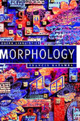 Morphology (Hardback)