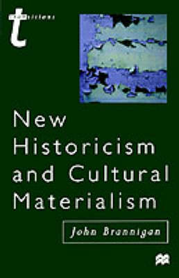 New Historicism and Cultural Materialism (Paperback)
