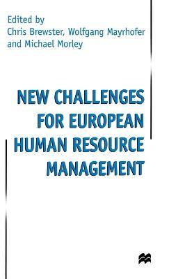 New Challenges for European Resource Management (Hardback)