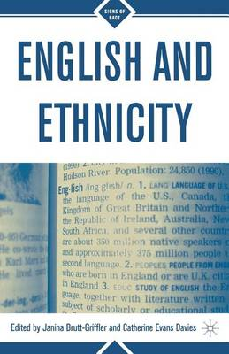 English and Ethnicity - Signs of Race (Paperback)
