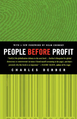 People Before Profit: The New Globalization in an Age of Terror, Big Money, and Economic Crisis (Paperback)