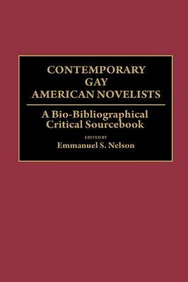 Contemporary Gay American Novelists: A Bio-Bibliographical Critical Sourcebook (Hardback)