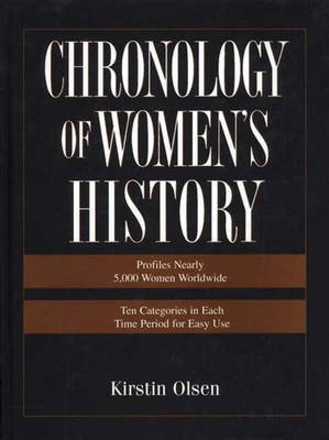 Chronology of Women's History (Hardback)