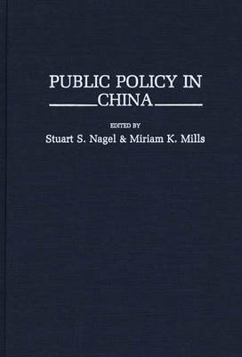 Public Policy in China (Hardback)