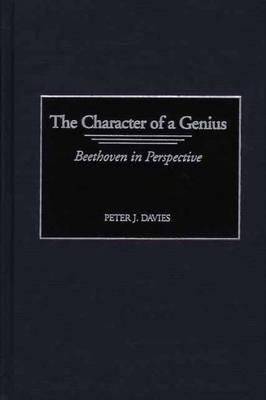 The The Character of a Genius: The Character of a Genius Character of a Genius (Hardback)
