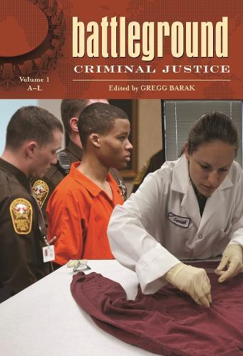 Battleground: Criminal Justice [2 volumes] - Battleground Series (Hardback)