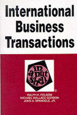 International Business Transactions in a Nutshell (Paperback)