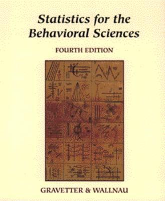 Statistics for the Behavioral Sciences (Hardback)